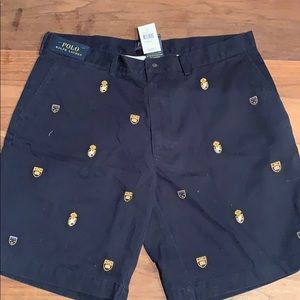 Polo Ralph Lauren shorts.